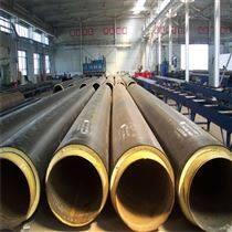 聚氨酯保温管工程公司  黑黄夹克保温钢管