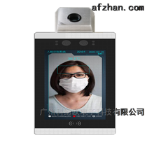 人體溫度檢測人臉識別道閘門禁攝像機
