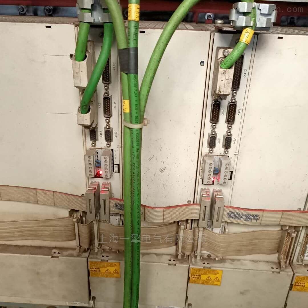西门子数控系统NCU573.5通讯连不上PF红灯亮