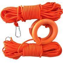救生圈救生浮索水面漂浮安全繩帶殼漂浮繩