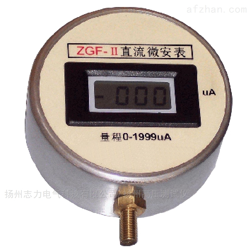 ZGF-II数字式微安表