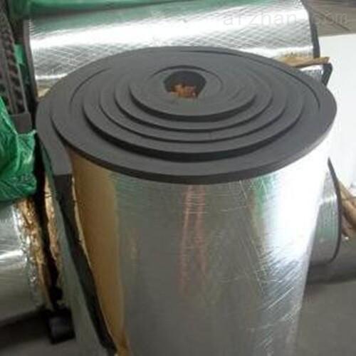 铝箔贴面橡塑保温板厂家加工//价格