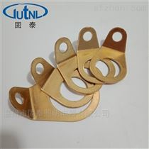 RLJD-G1/2G3/4防爆接地片黃銅鍍鎳接線端子