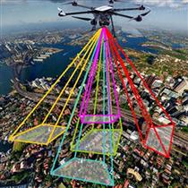 無人機傾斜攝影技術