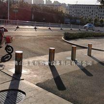 小区遥控自动防撞升降庄,道路隔离伸缩柱