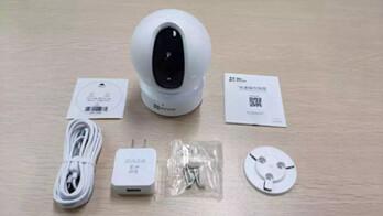 萤石C6C互联网云台摄像机测评