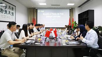 印尼考察團來訪中德宏泰 共話AI產業合作