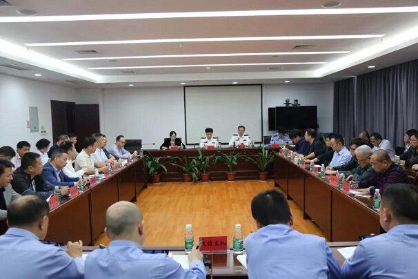 湖北安协无人机协会参加武汉军运会建设及安保会议