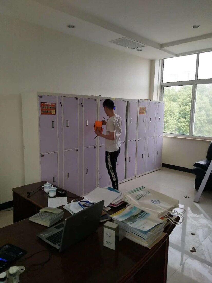健身房智能更衣柜