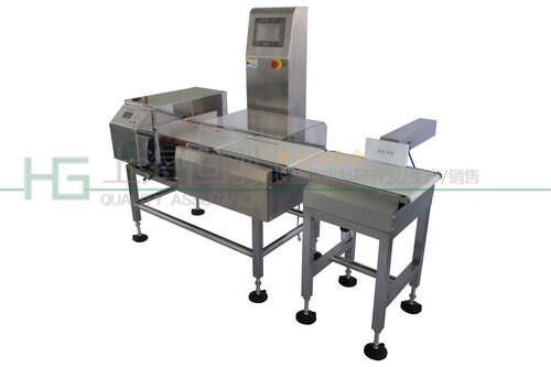 高精度不锈钢金属检测称重一体机