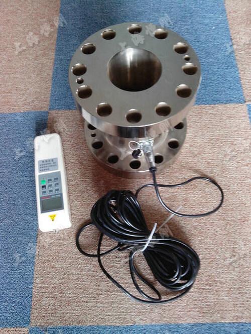 法兰带数显的测压力仪表  量程10KN -100KN